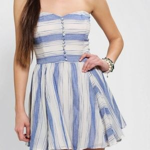 Lucca Couture Urban Outfitters Strapless Dress